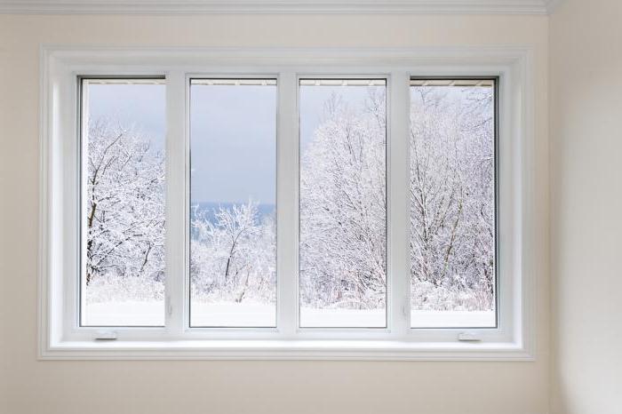 окна зима