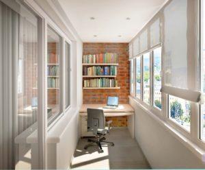 стильный балкон