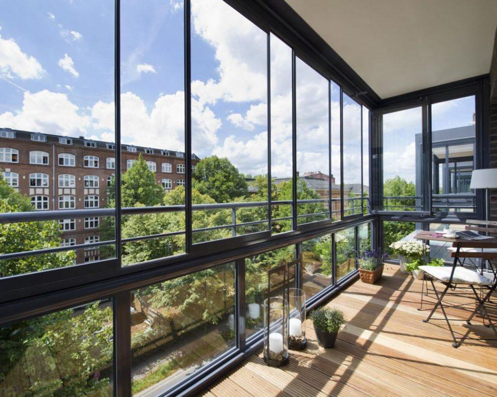 остекление балконов 360